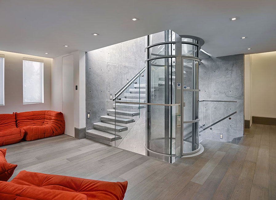 Pve airlift pneumatic vacuum elevators a work of art for Home elevators direct