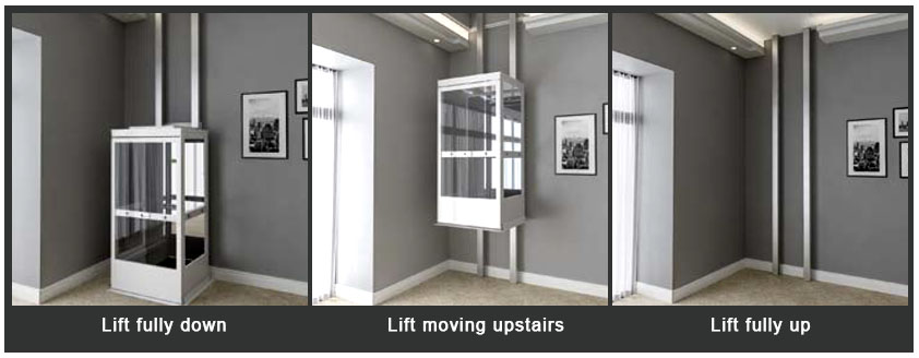 Venturi home lifts taking your home to the next level for Home elevators direct