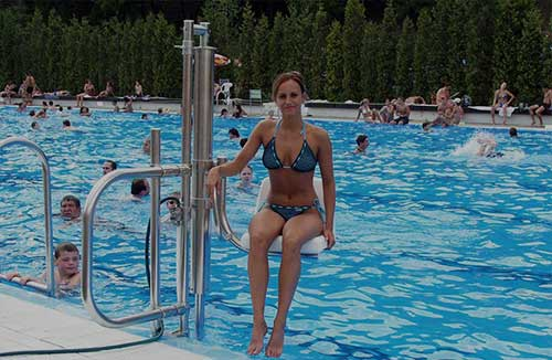 Pool Lift for disable