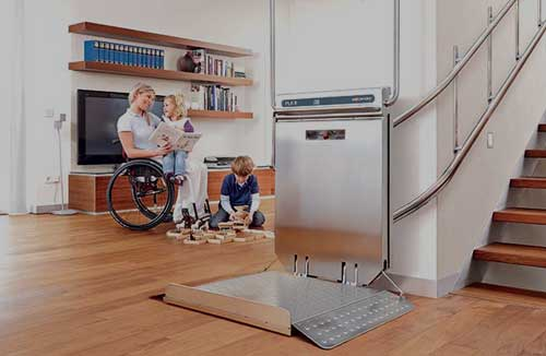 Wheelchair Straight Lift