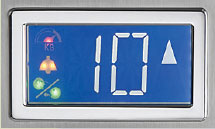 home lift display screen