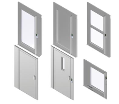 flex-e home lift door type
