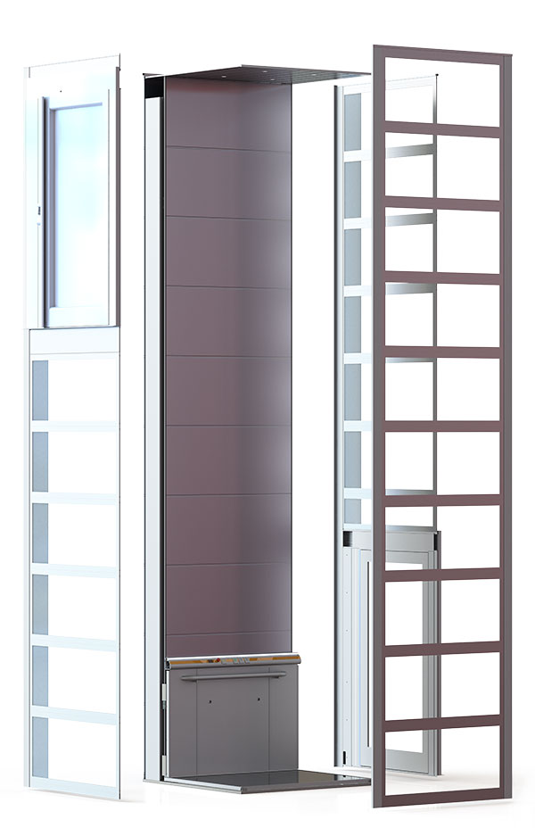flex-e home lift full view