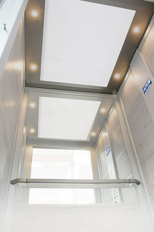 home lift ceiling