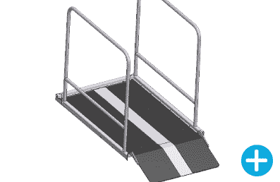 wheelchair lift higher side abrs