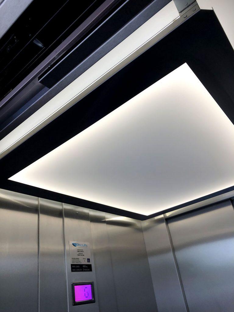 Linea DDA Commercial lift lightning