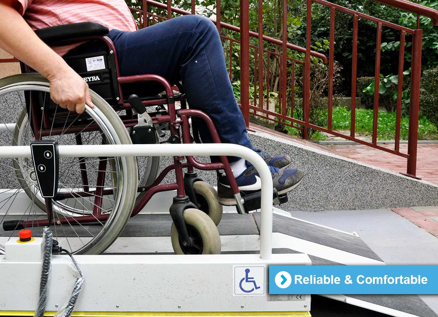 Wheelchair Lift - Reliable and Comfortable