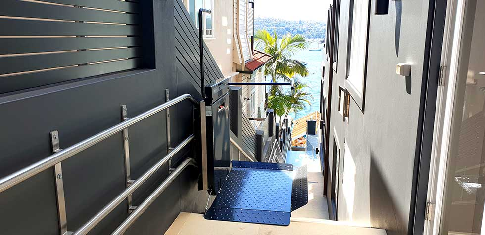 wheelchair lift shellbank sydney