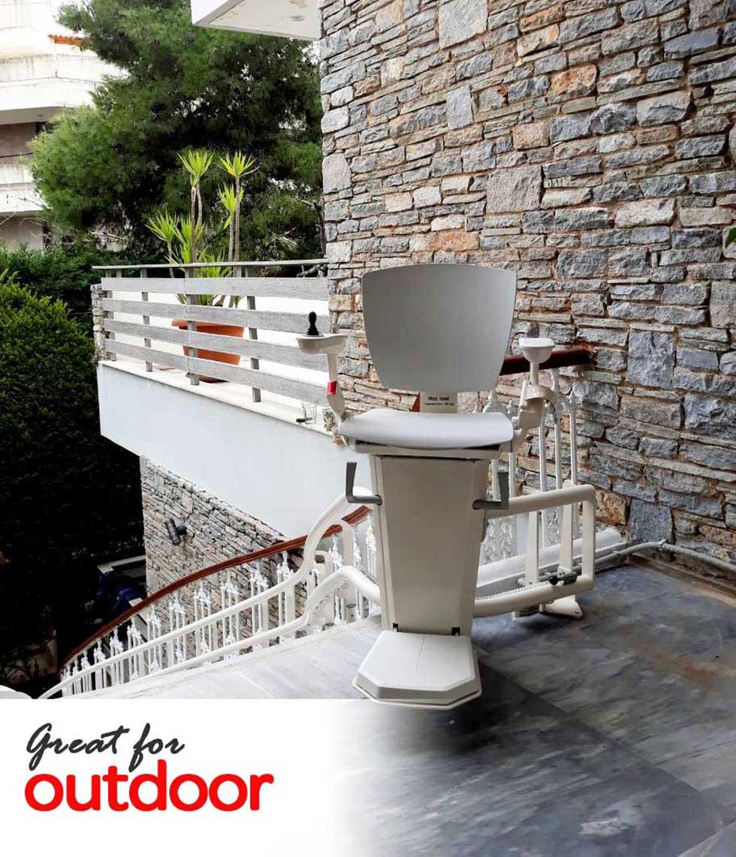 Otolift Outdoor stairlift