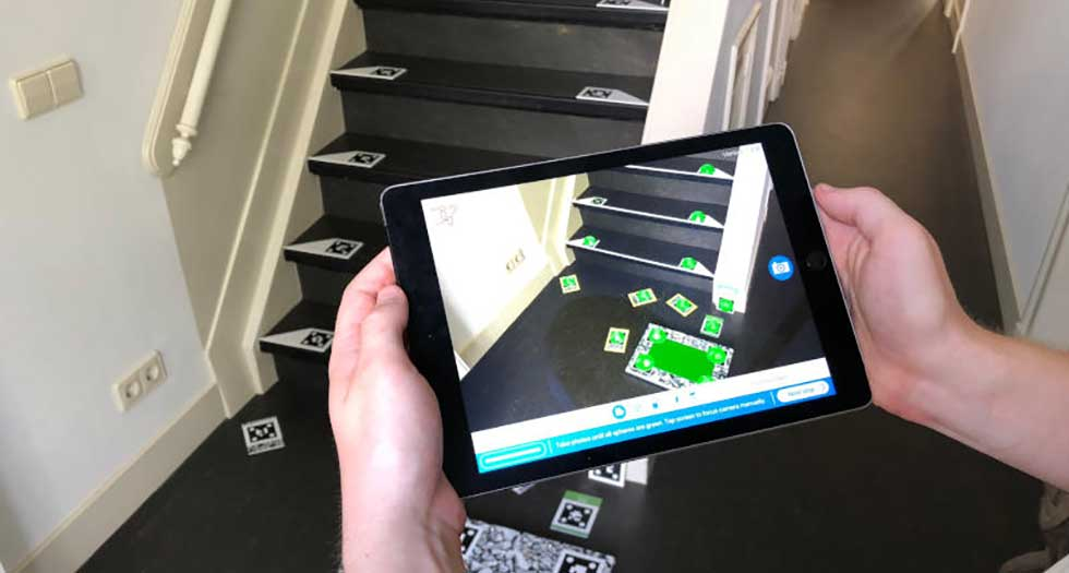 stairlift measuring at home