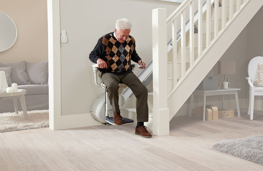 levant straight stairlift