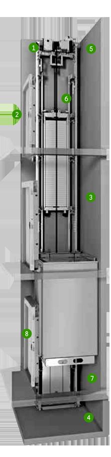 orona X19 commercial lift