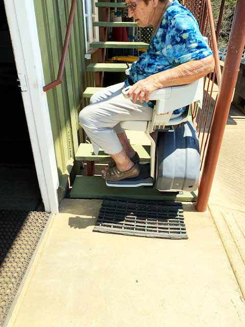 outdoor stairlift South Brisbane