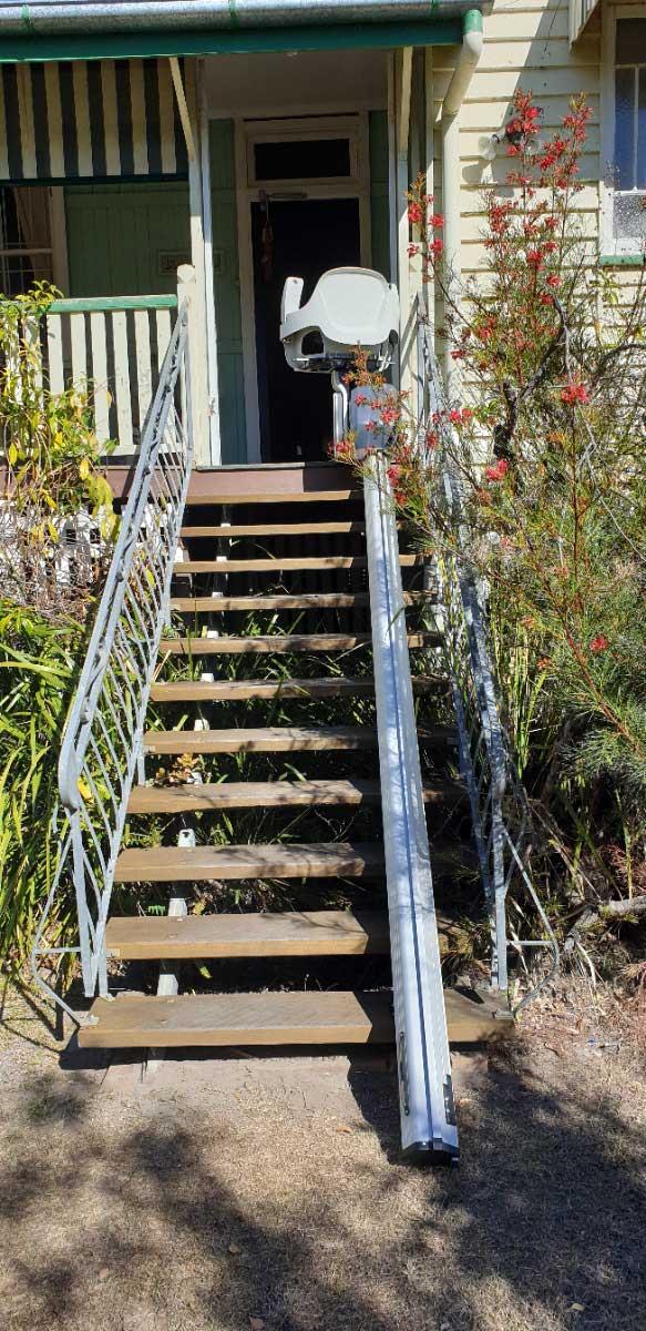 outdoor stairlift Bundaberg Queensland