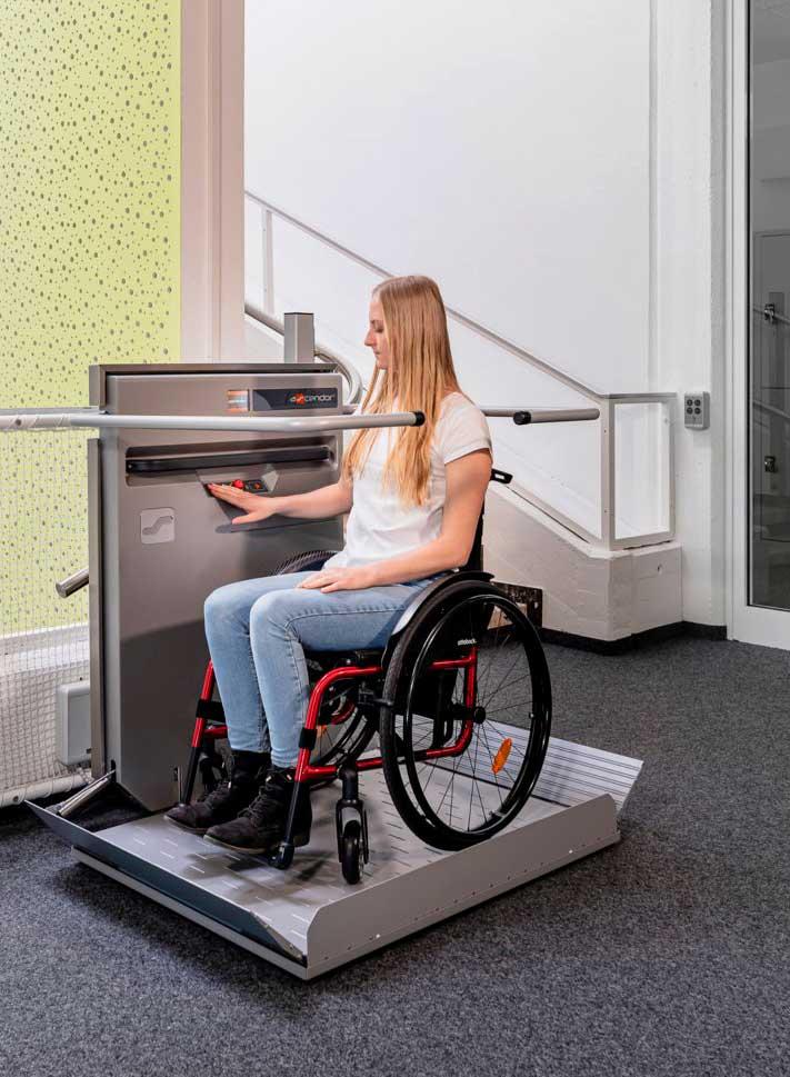 Ascendor Platform Wheelchair Lift