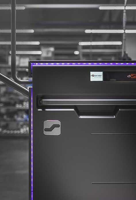 Ascendor Platform wheelchair lift LED light