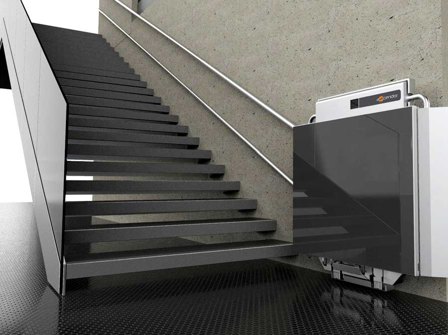 ascendor wheelchair platform lift