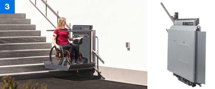 Using Ascendor Platform Stairlift Step 3