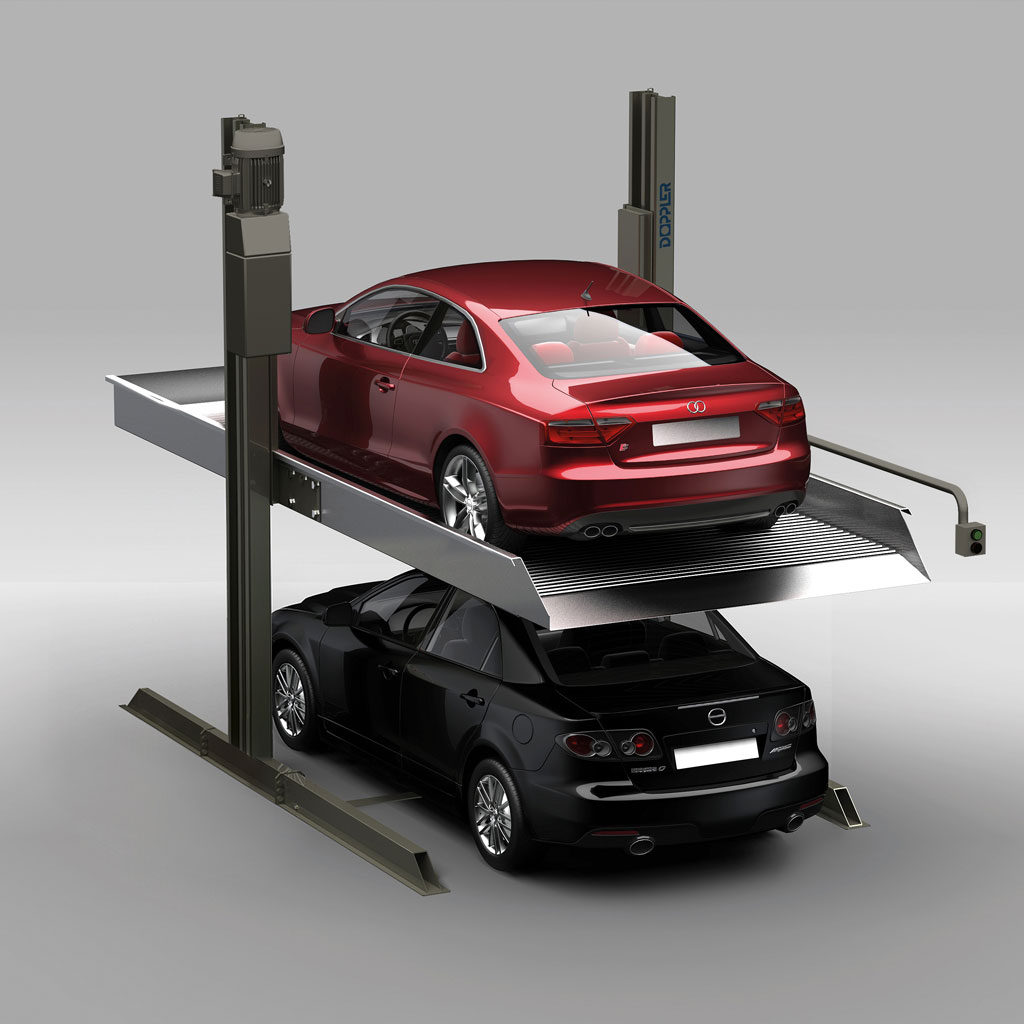 Car Stacker for Double Parking
