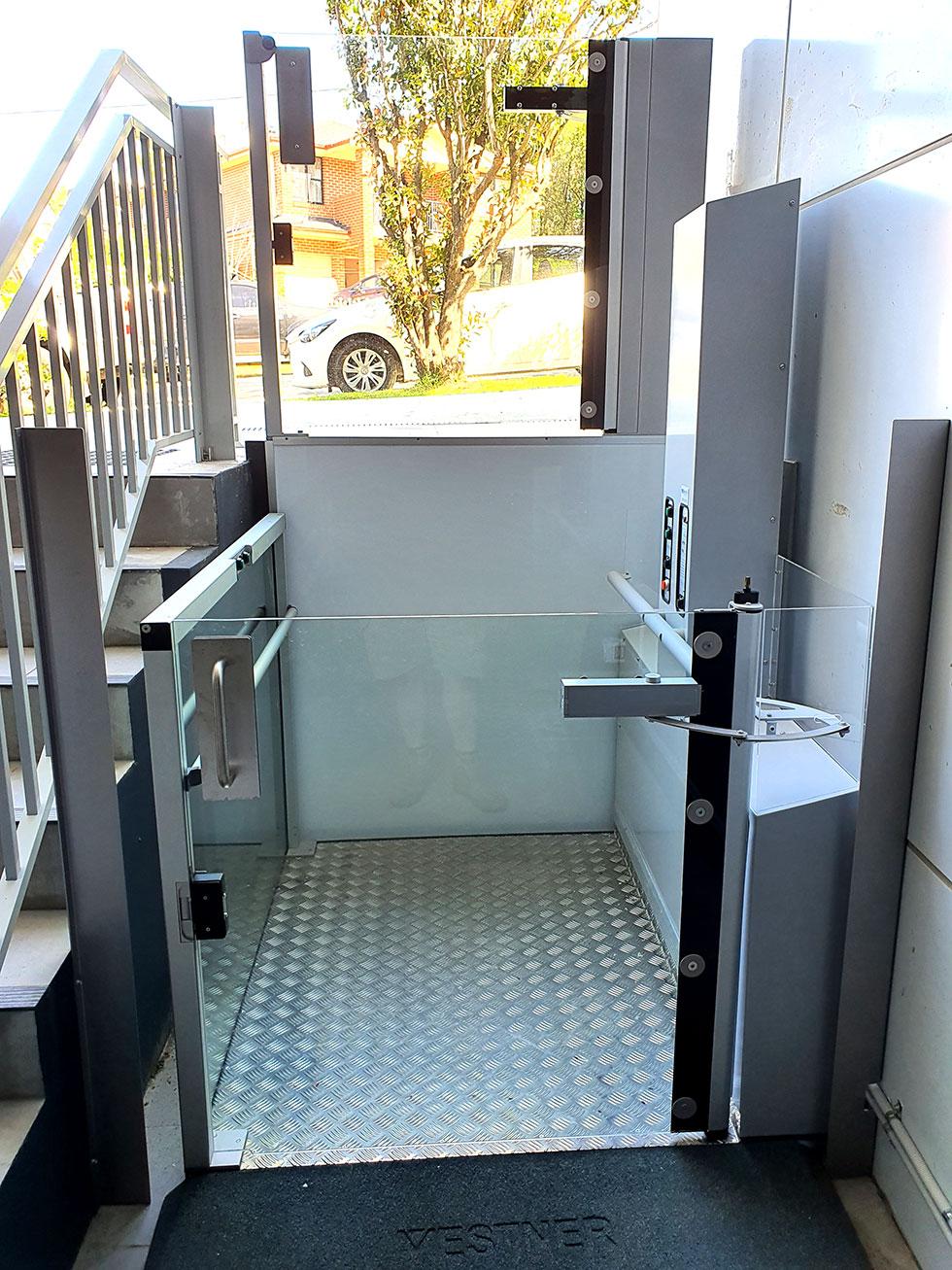 wheelchair lift vertical sydney