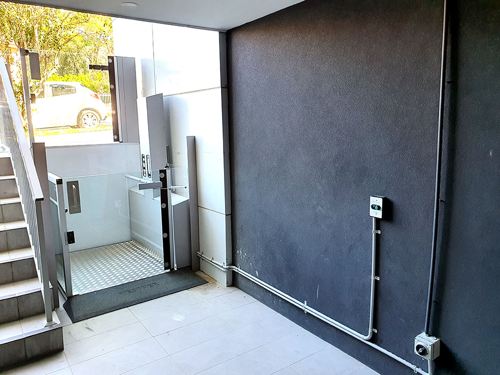 wheelchair lift vertical sydney
