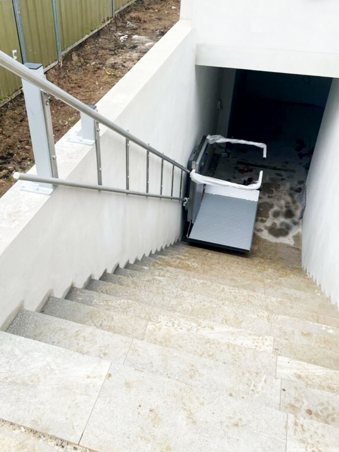 Ascendor wheelchair lift Miranda NSW