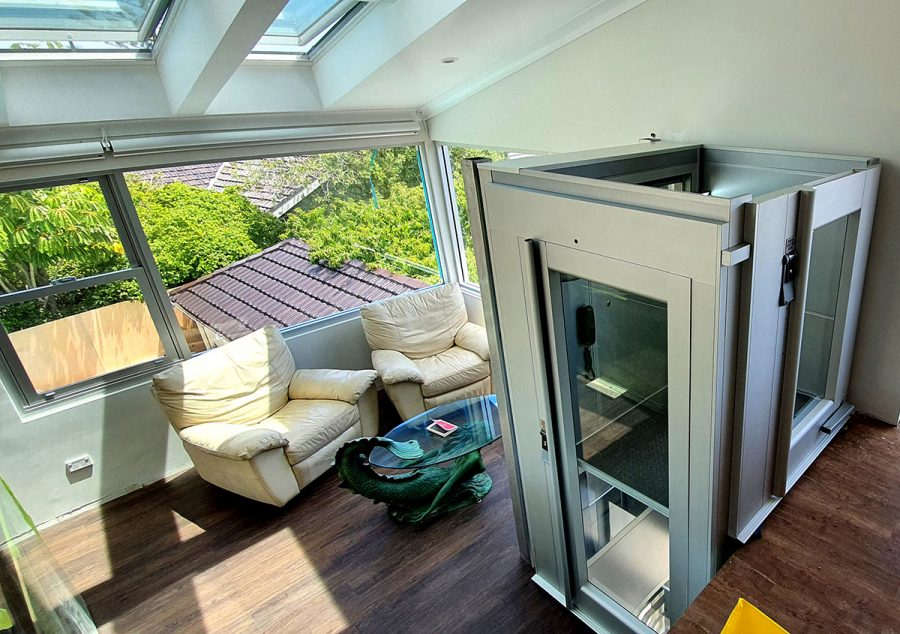Home lift in Vaucluse NSW