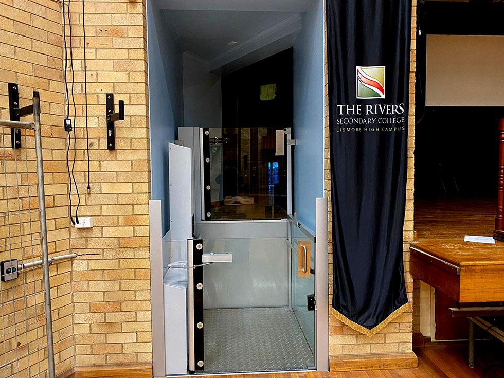 ascensa wheelchair lift in Lismore NSW