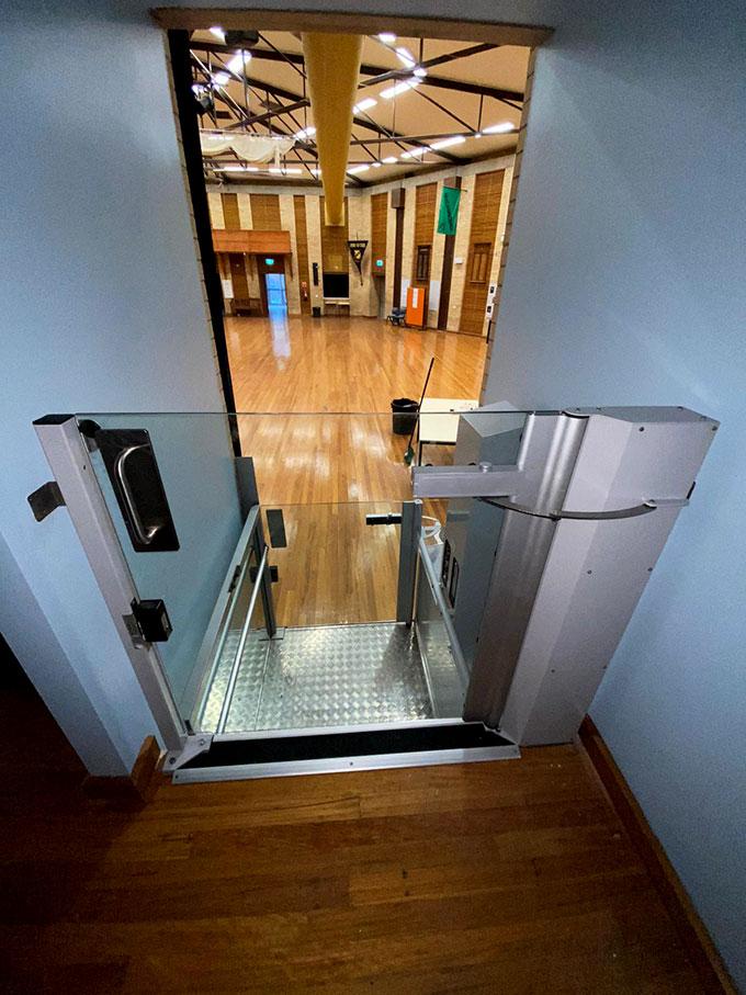ascensa wheelchair lift in Lismore NSW 2
