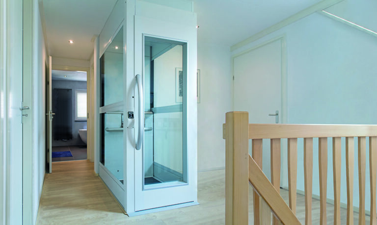 home lift by cibes narrow