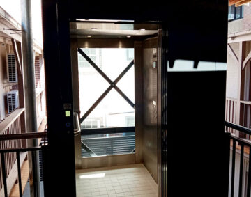 Buiding lift South Steyne Manly